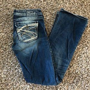 Silver Jeans Pioneer 26W 31L